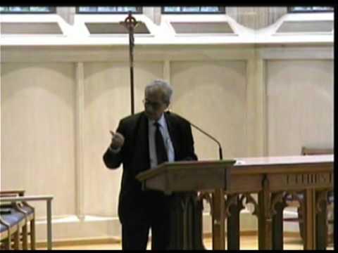Nobel Laureate Amartya Sen Lecture 3-26-2010