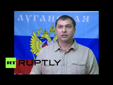 Ukraine: Lugansk People's Republic leader steps down