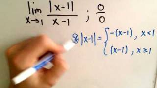 ❖ Limits Involving Absolute Value ❖