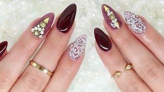 Fancy Fall Nails 💖 Omaya Zein Edition
