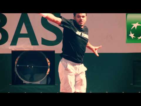 Two Minutes With Stan Wawrinka
