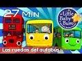 Las ruedas del autobús - Todas las versiones | Canciones infantiles | LittleBabyBum MP3