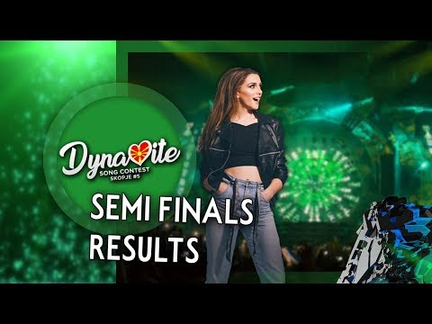 Semi Final Results | Skopje | Dynamite Song Contest #5