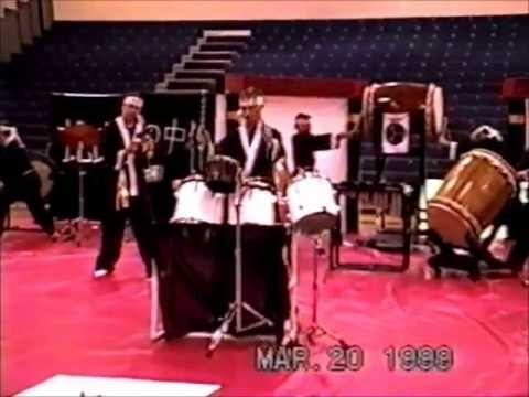 Cape Coral High School Drumline Indoor show March 20, 1999