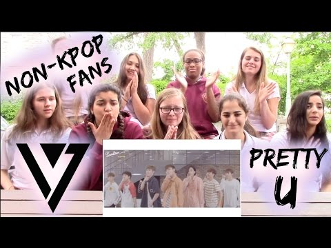 download lagu Non-Kpop Fans SEVENTEEN - PRETTY U Reaction + BONUS Classmates Edition gratis