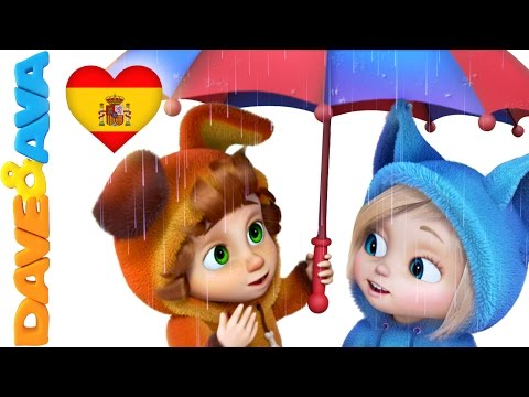 ☔ Canciones Infantiles   Lluvia, Lluvia, Vete Ya   Canciones Para Bebés de Dave y Ava ☔