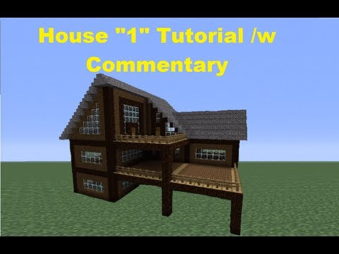 Minecraft 360: How to Build a Spruce Wood House - House 1