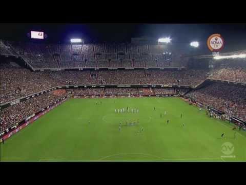 (Full Match) Part 1  AS Roma vs Valencia  (Trofeo Naranja Cup 8-8-2015)