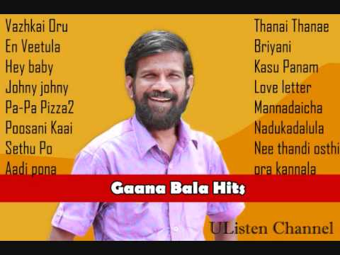Gaana Bala Hits Jukebox