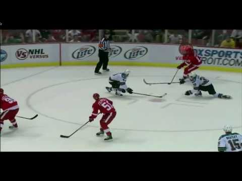 Wings Reel In Sharks 3-1: Filppula Game Winner (video)