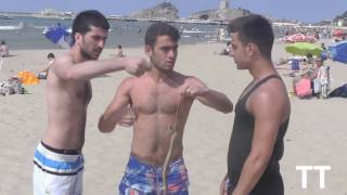 Sahilde Yılan Şakası / Snake On The Beach Prank :)