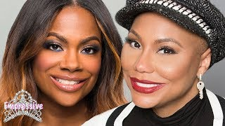Tamar Braxton feuding with Kandi Burruss on Celebrity Big Brother?!
