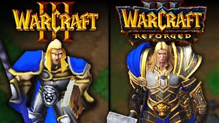 Warcraft III: Reforged vs Classic | Direct Comparison