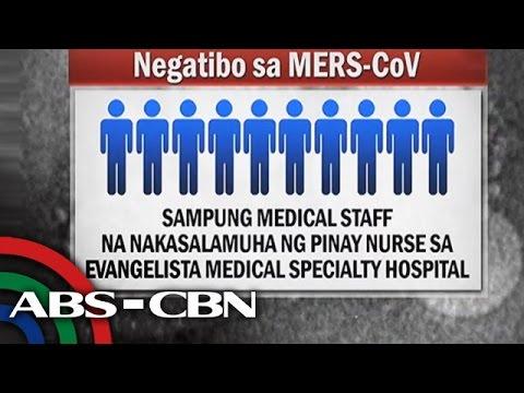 Mga nakasalamuha ng Pinay nurse negatibo sa MERS-CoV