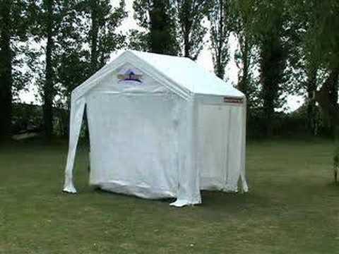 How to erect a 3m x 2m Gala Tent (same as 3m x 3m)