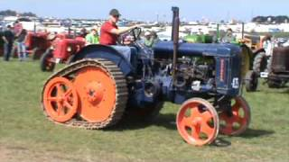 Vintage Tractors on Parade.  Great Dorset Steam Fair. 3