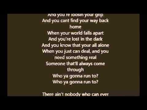 Rihanna - Who Ya Gonna Run To?