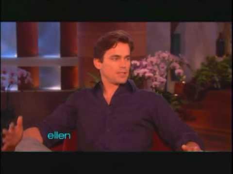 Matt Bomer on Ellen (1/18/11)