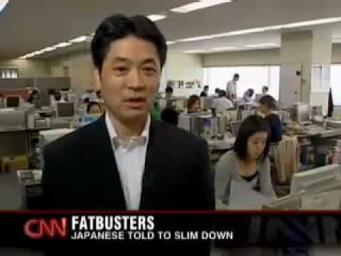 CNN - Being FAT is Now ILLEGAL in Japan.