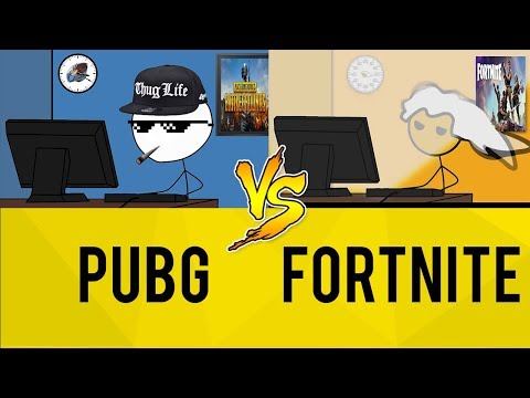 PUBG Gamers vs Fortnite Gamers