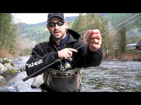 Pink worm Fishing - Leaky Waders Fishing