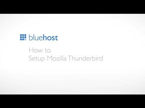 How to setup Mozilla Thunderbird