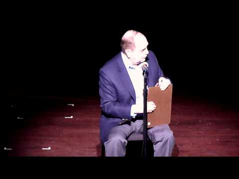 Bob Newhart &quot;The Driving Instructor&quot;, at the Bob Newhart Show, The Ferguson Center for the Performing Arts, Christopher Newport University, Newport News, Vir...