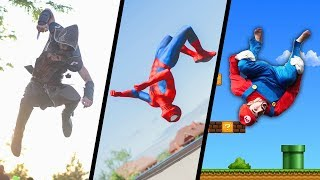 Video Games & Superheroes In Real Life  (Spiderman, Mario, Deadpool, Assassin's Creed...)