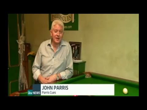Parris Cues feature on ITV News Made in London series