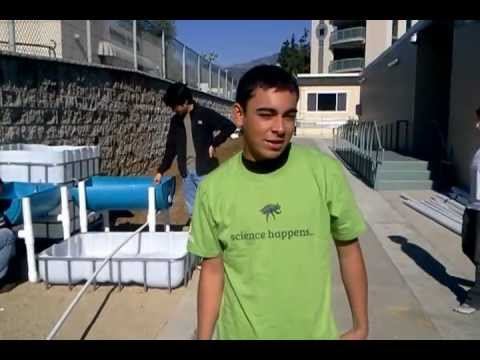 Pasadena City College Aquaponics Introduction - ENGLISH
