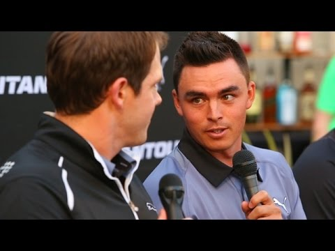 Tuesday with Rickie Fowler at Waste Management