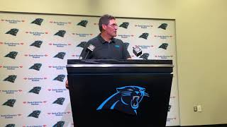 Ron Rivera Panthers vs Rams Postgame Press Conference
