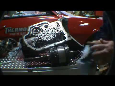 turbo 400 teardown part 1 taking the turbo hydramatic transmission ...