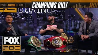 Champions only round table discussion with Deontay Wilder, Mikey Garcia and more | INSIDE PBC BOXING