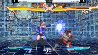 SFxT Infiltration vs AIAB Kyoku - Socal Regionals 2014 Day 2