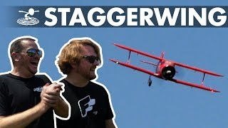 The Little Staggerwing that Could | Alex attempts a one-wheel landing