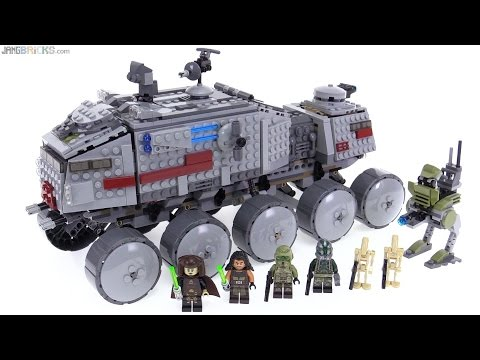 LEGO Star Wars 2016 Clone Turbo Tank review! 75151