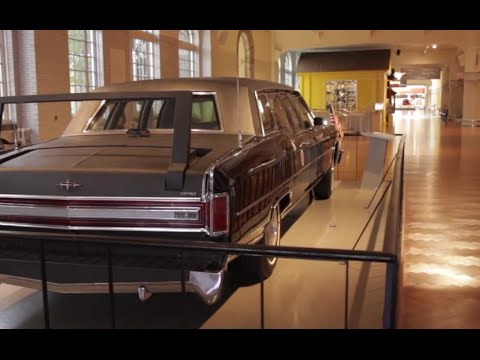 Kennedy assassination limousine (Henry Ford Museum - Dearborn Michigan)