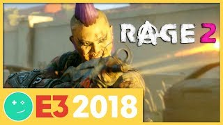 We Played Rage 2! - Kinda Funny Games Impressions E3 2018