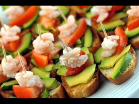 Menu para fiestas 1 youtube for Cenas faciles y economicas