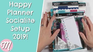 Happy Planner Classic Socialite Setup 2019 - My Go To MAMBI Planner For 2019