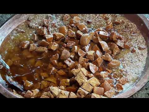 Resep membuat dodol jawa porsi besar(full) cara membuat sampae selesae