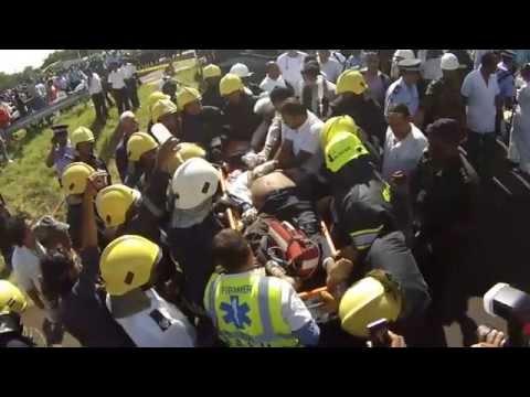 Accident  à Sorèze Pailles