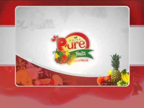 Drink P'ure Fruits - Pure Fruits in Every Sip..!!!
