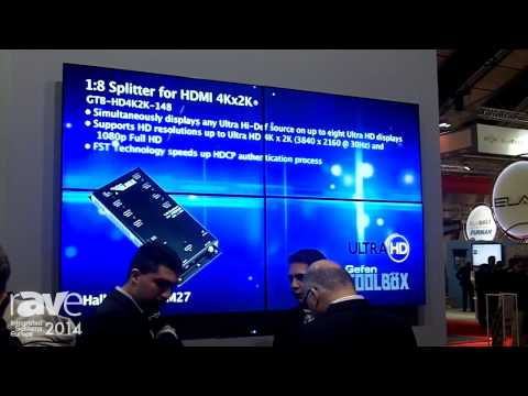 ISE 2014: Gefen Demonstrates HD Video Wall Controller