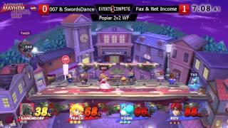 PCB #44 2v2 Losers Semis - Mr. Swords Dance & 007 vs. E2C l Fax & Net Income