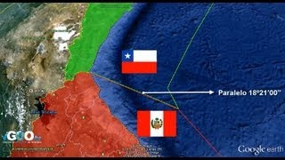 Conflicto Fronterizo Entre Chile y Perú / Border Conflict Between Chile and Peru [IGEO.TV]