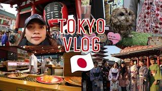 Tokyo Vlog: Authentic Japanese Sushi, Senso-ji Temple, Ameya-yokocho | Food Bae