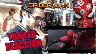 ¡Genial! SPIDER-MAN FAR FROM HOME Tráiler Reacción