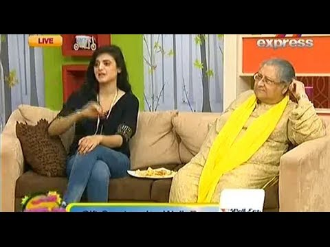 Sur Saath Savera , 19th June 2014 , Full , With Barkat Uzmi & Hira Mani , Morning Show
